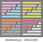 button icon set | Shutterstock . vector #10612204