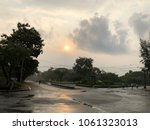 the dawn after the rain  at... | Shutterstock . vector #1061323013