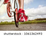 modern fixed gear bicycle | Shutterstock . vector #1061362493