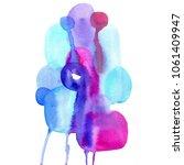 beautiful paint spot.... | Shutterstock . vector #1061409947