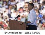 us senator barack obama... | Shutterstock . vector #106143407