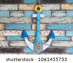 Small photo of Anchors are very important if we think of floating boats, fishing in the water, or parked in the sea several times, some of which are anchored or anchored to anchor and anchor to the sea.