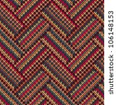 knit woolen seamless jacquard... | Shutterstock .eps vector #106148153