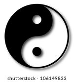 yin yang vector illustration | Shutterstock .eps vector #106149833