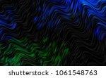 dark blue  green vector... | Shutterstock .eps vector #1061548763