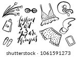 fashion is art and you are the... | Shutterstock .eps vector #1061591273