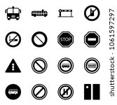solid vector icon set   airport ...   Shutterstock .eps vector #1061597297