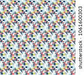 abstract geometric pattern with ... | Shutterstock .eps vector #1061600303