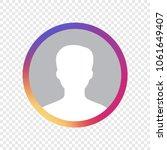 social media avatar user icon