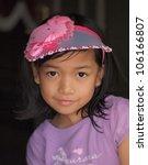 cute little girl   Shutterstock . vector #106166807