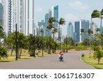 panama city  panama   march... | Shutterstock . vector #1061716307