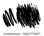 set different grunge brush... | Shutterstock .eps vector #1061775857