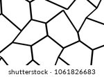 black and white irregular grid  ... | Shutterstock .eps vector #1061826683