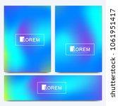 vector design template in... | Shutterstock .eps vector #1061951417