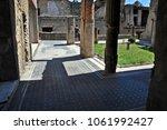 herculaneum  italy   may 19 ...   Shutterstock . vector #1061992427