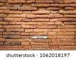 old brick texture background | Shutterstock . vector #1062018197
