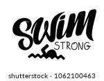 vector hand drawn lettering.... | Shutterstock .eps vector #1062100463