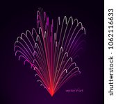 3d firework art. abstract...   Shutterstock .eps vector #1062116633