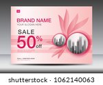 brochure flyer for cosmetics ... | Shutterstock .eps vector #1062140063
