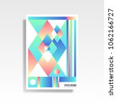 abstract multicolored cover....   Shutterstock .eps vector #1062166727