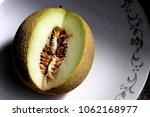 galia melon  sarda in india and ... | Shutterstock . vector #1062168977