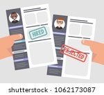 looking for an employee.... | Shutterstock .eps vector #1062173087