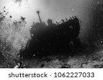 Ship Wreck Silhouette...