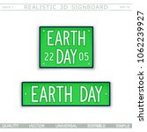 earth day. 22 april. stylized... | Shutterstock .eps vector #1062239927