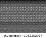 steel metal plate hole dot... | Shutterstock .eps vector #1062262037