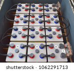 battery box use on offshore... | Shutterstock . vector #1062291713