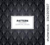 seamless geometric pattern.... | Shutterstock .eps vector #1062305837