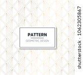 seamless geometric pattern.... | Shutterstock .eps vector #1062305867