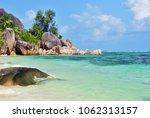 granite rocky beaches on... | Shutterstock . vector #1062313157