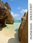 granite rocky beaches on... | Shutterstock . vector #1062313307