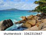granite rocky ocean shore and... | Shutterstock . vector #1062313667