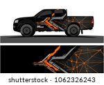 truck graphic. abstract modern...   Shutterstock .eps vector #1062326243