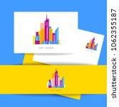 real estate. vector logo... | Shutterstock .eps vector #1062355187