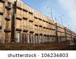 Tunnel Construction Retain Wall