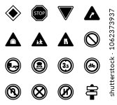 solid vector icon set   main... | Shutterstock .eps vector #1062373937
