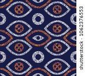seamless pattern in ethnic... | Shutterstock .eps vector #1062376553