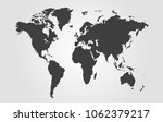 world map vector abstract | Shutterstock .eps vector #1062379217