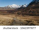 pedestrian path going towards...   Shutterstock . vector #1062397877
