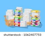 vector illustration. lot of... | Shutterstock .eps vector #1062407753