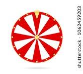 realistic wheel of fortune... | Shutterstock .eps vector #1062459203
