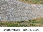 retaining wall outdoor | Shutterstock . vector #1062477623