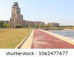 office building at jinjialin... | Shutterstock . vector #1062477677