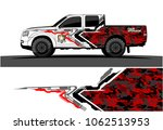 truck graphic vector. abstract... | Shutterstock .eps vector #1062513953