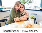 portrait of beautiful and happy ... | Shutterstock . vector #1062528197