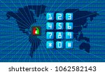 abstract technological... | Shutterstock .eps vector #1062582143