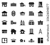 flat vector icon set  ... | Shutterstock .eps vector #1062604877